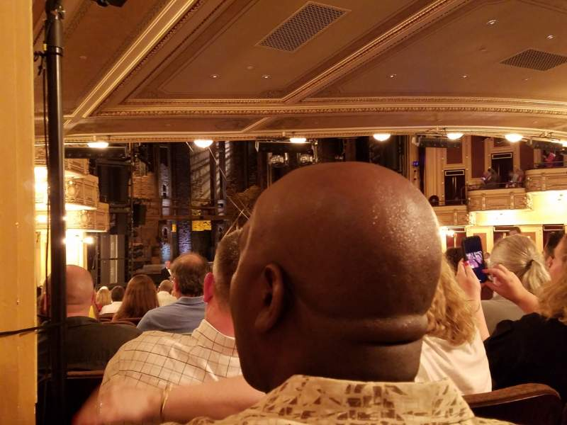 Seating view for Hippodrome Theatre Section Left Orchestra Row BB Seat 25
