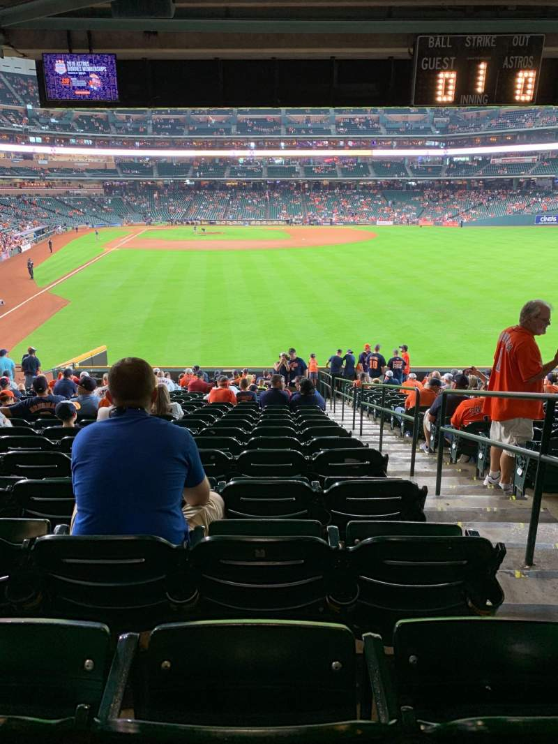 Seating view for Minute Maid Park Section 152 Row 21 Seat 23