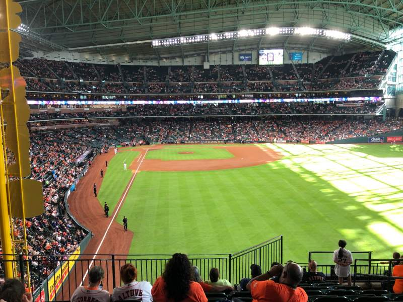Seating view for Minute Maid Park Section 251 Row 10 Seat 13