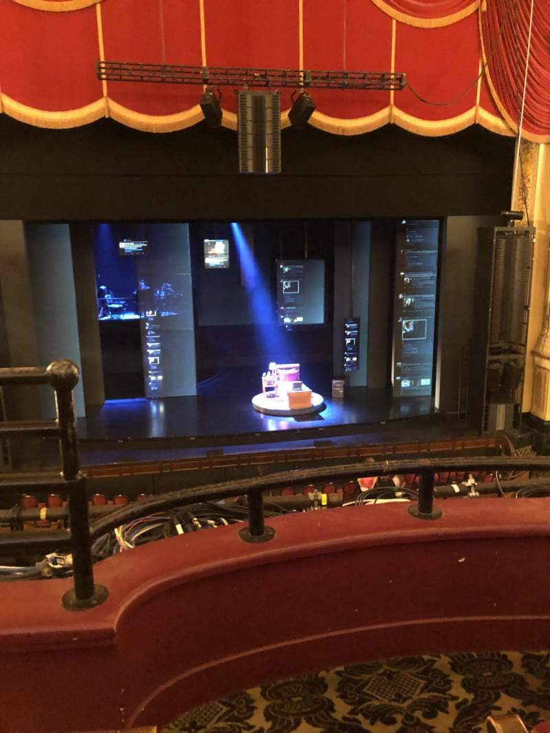 Seating view for Citizens Bank Opera House Section Dress Circle Center Row BB Seat 109