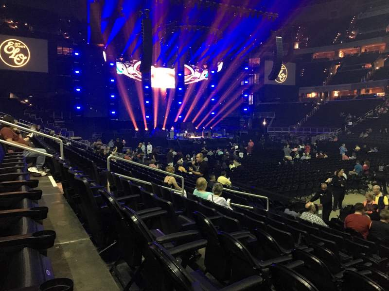Seating view for Capital One Arena Section 101 Row K Seat 13