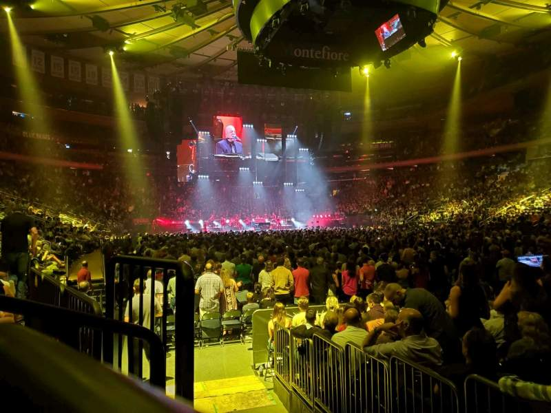 Seating view for Madison Square Garden Section 120 Row 3 Seat 3