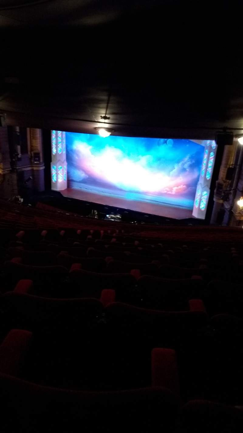 Seating view for Palace Theatre (Manchester) Section Circle Row R Seat 12