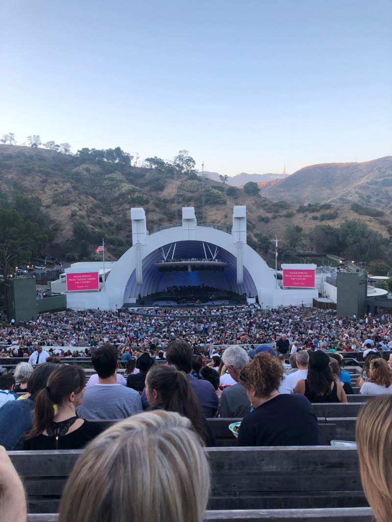 Seating view for Hollywood Bowl Section M1 Row 14 Seat 23