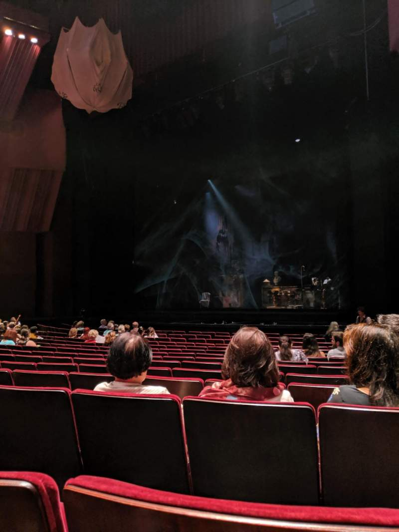Seating view for Segerstrom Hall Section Orchestra Row L Seat 7
