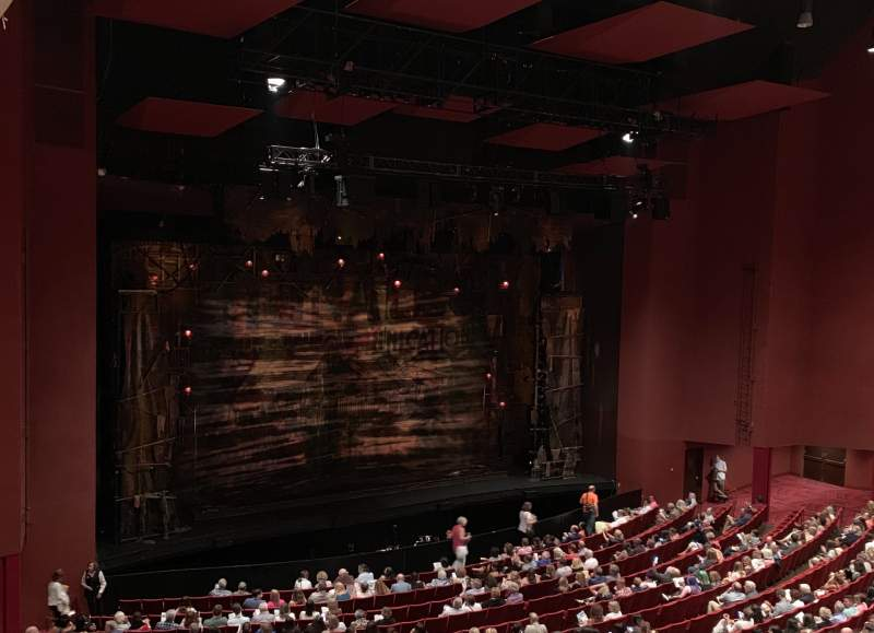 Seating view for San Diego Civic Theatre Section LLOGL2 Row N Seat 9