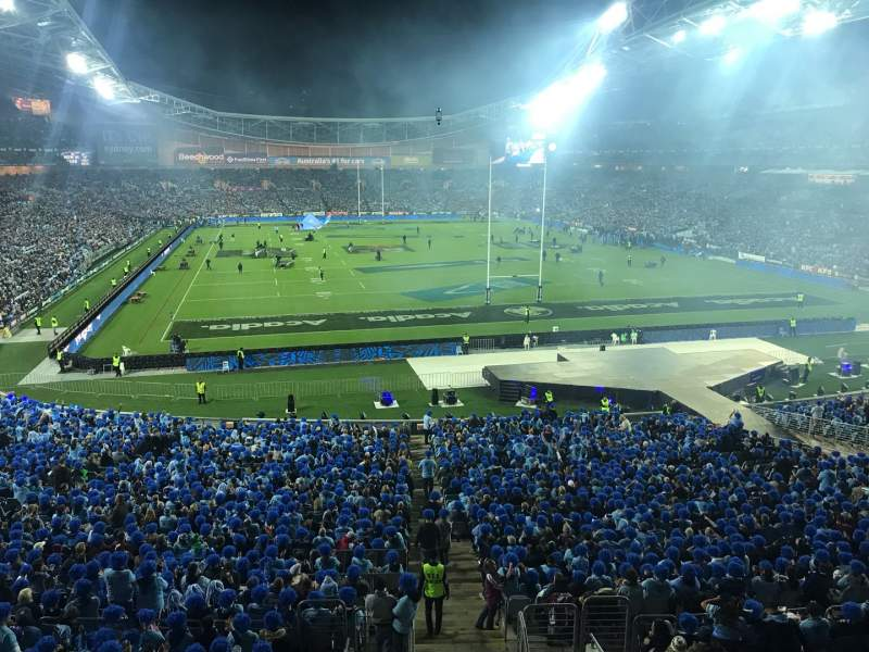 Seating view for ANZ Stadium Section 317 Row 1 Seat 37