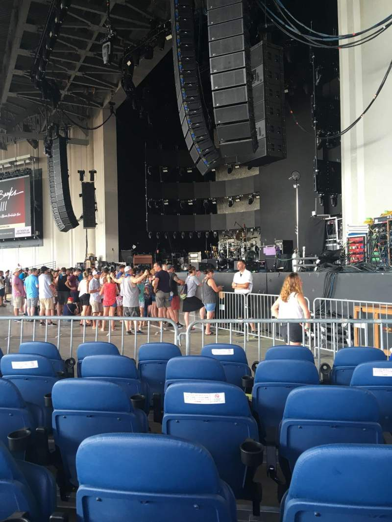 Seating view for PNC Music Pavilion Section 1 Seat 5