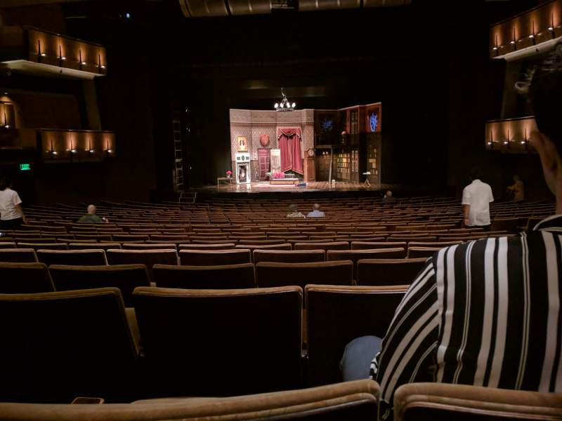Seating view for Ahmanson Theatre Section Orchestra Row W Seat 24