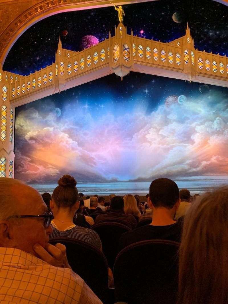 Seating view for Eugene O'Neill Theatre Section Orchestra C Row L Seat 108
