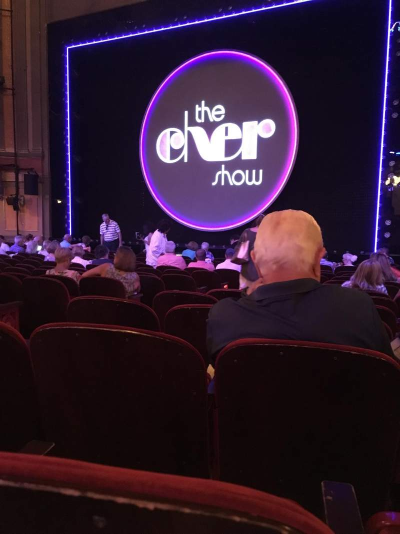 Seating view for Neil Simon Theatre Section Orchestra R Row O Seat 8
