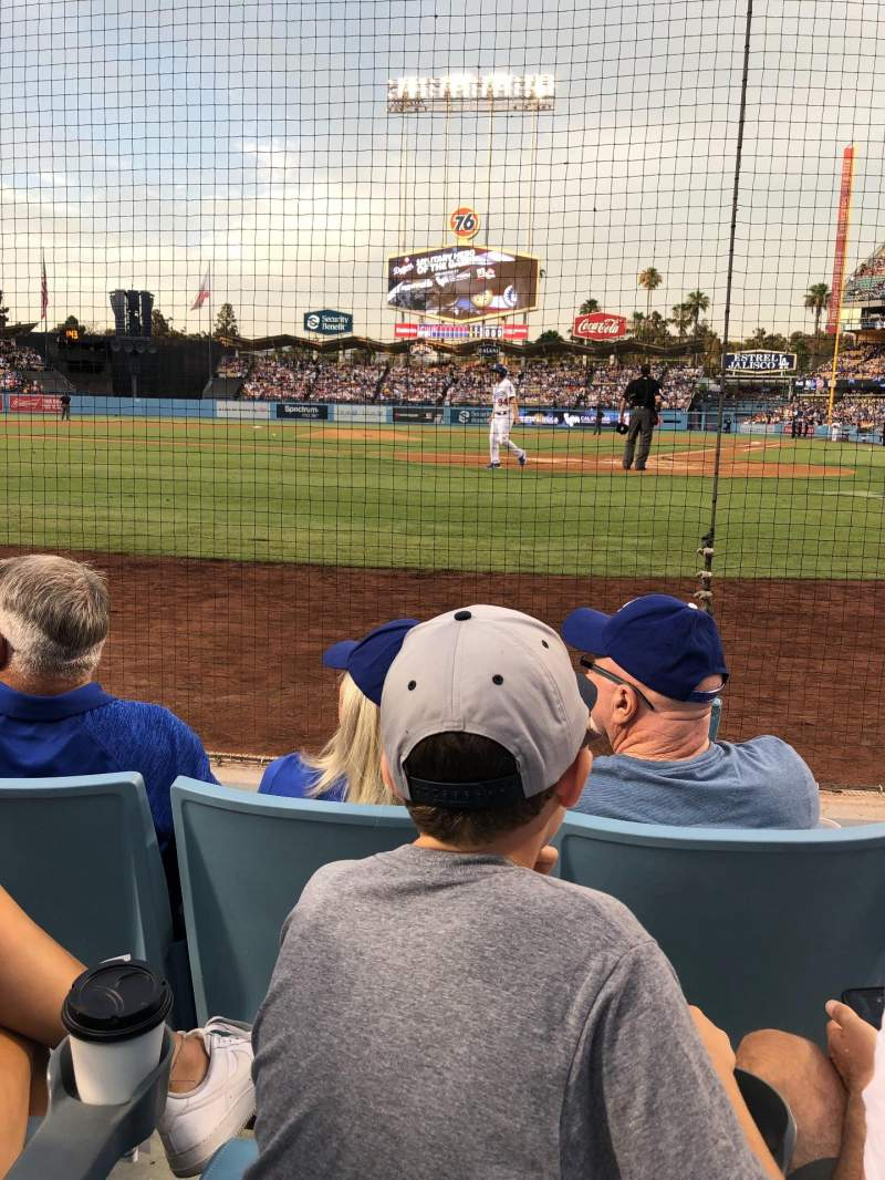 Seating view for Dodger Stadium Section 5DG Row CC Seat 1