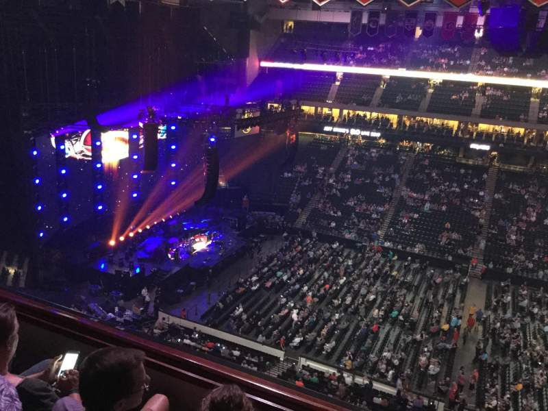 Seating view for Xcel Energy Center Section 219 Row 3 Seat 13