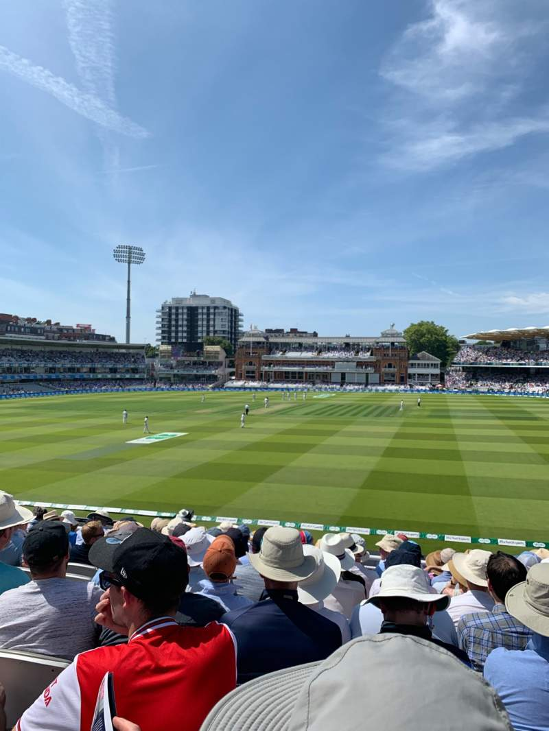 Seating view for Lord's Cricket Ground Section Upper Compton Stand Row K Seat 123