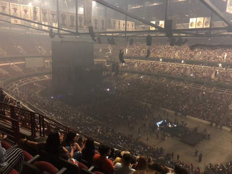 Seating view for United Center Section 314 Row 11 Seat 13