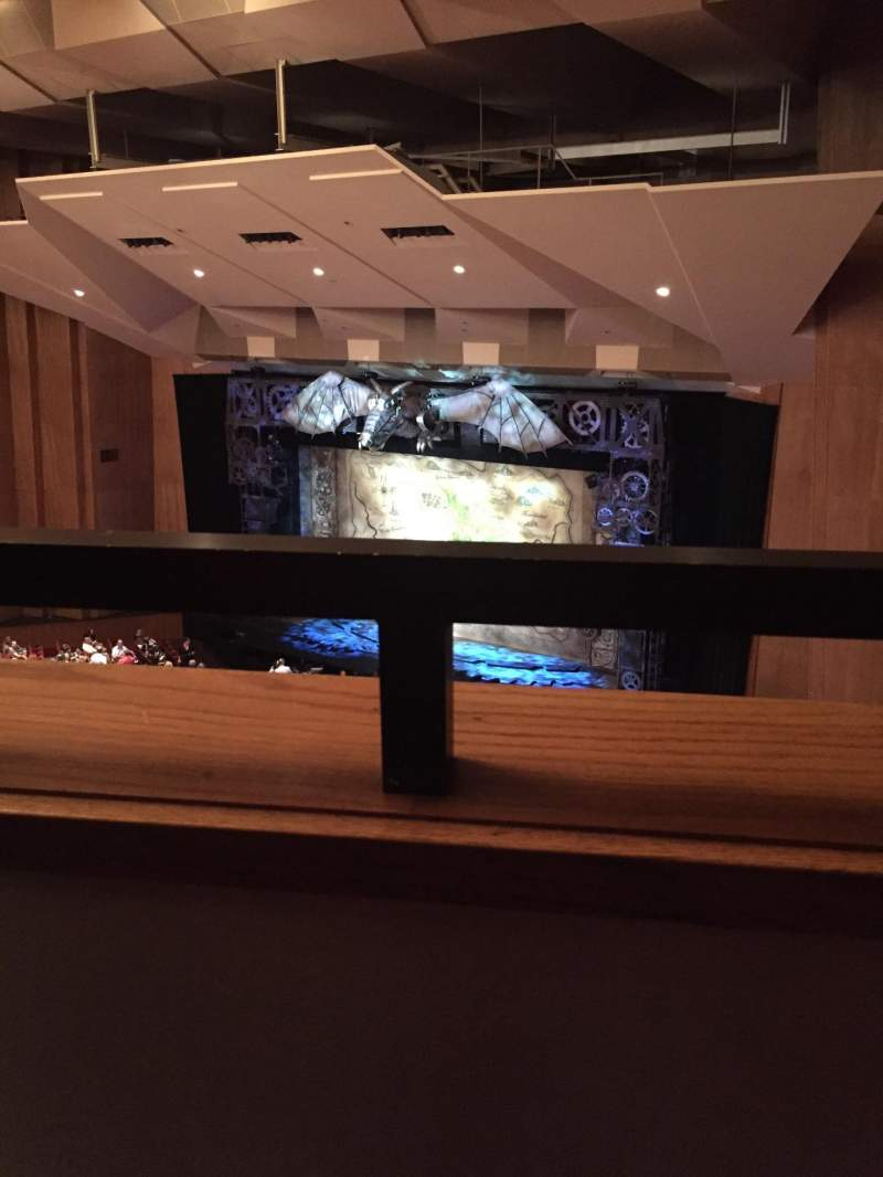 Seating view for Keller Auditorium Section 2nd Balcony Box E Row 1 Seat 2