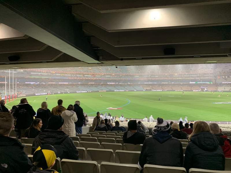 Seating view for Melbourne Cricket Ground Section M42 Row Kk Seat 11