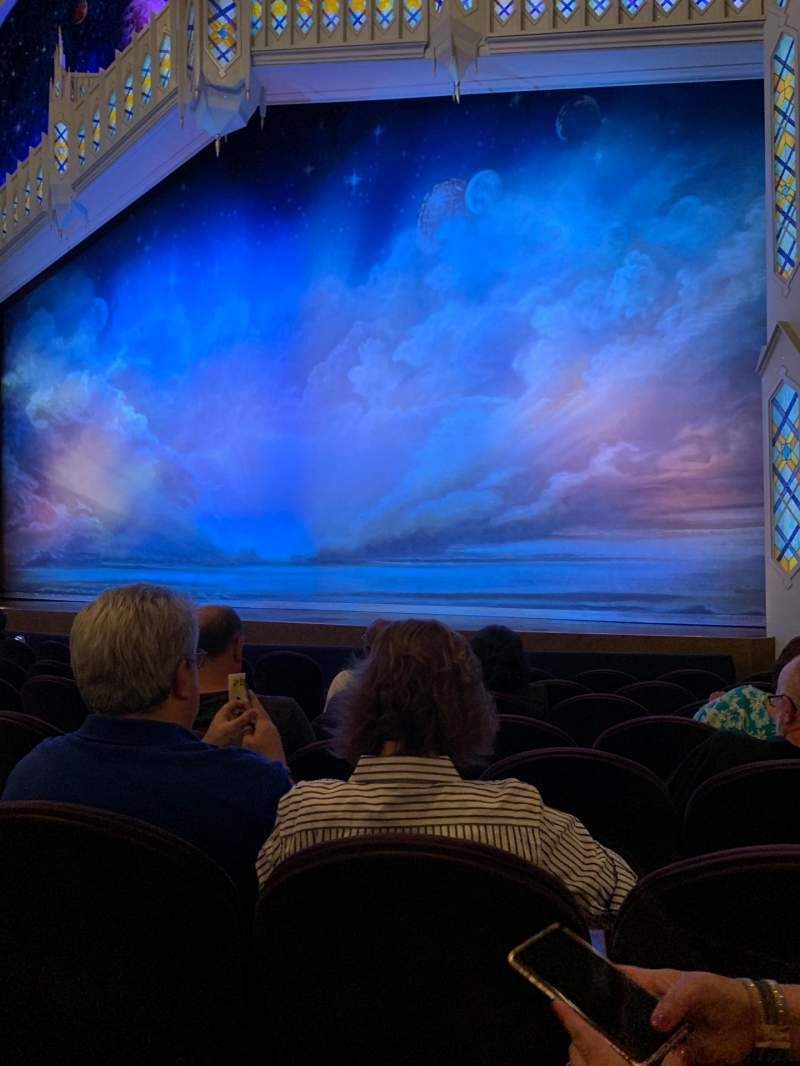 Seating view for Eugene O'Neill Theatre Section Orchestra R Row H Seat 12