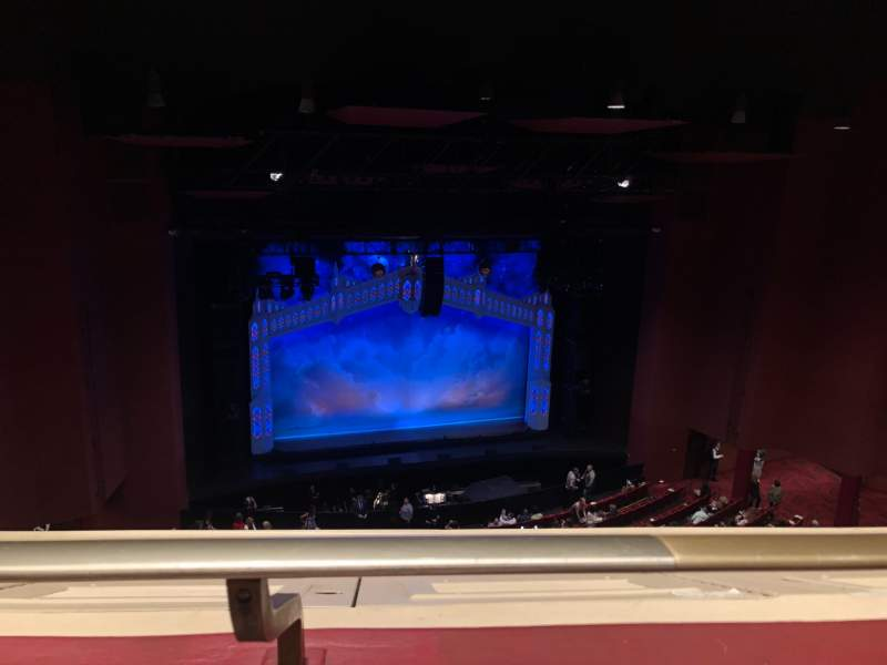 Seating view for San Diego Civic Theatre Section Balcony L Row O Seat 21
