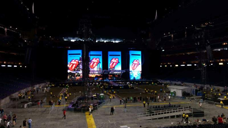 Seating view for NRG Stadium Section 138 Row BB Seat 13