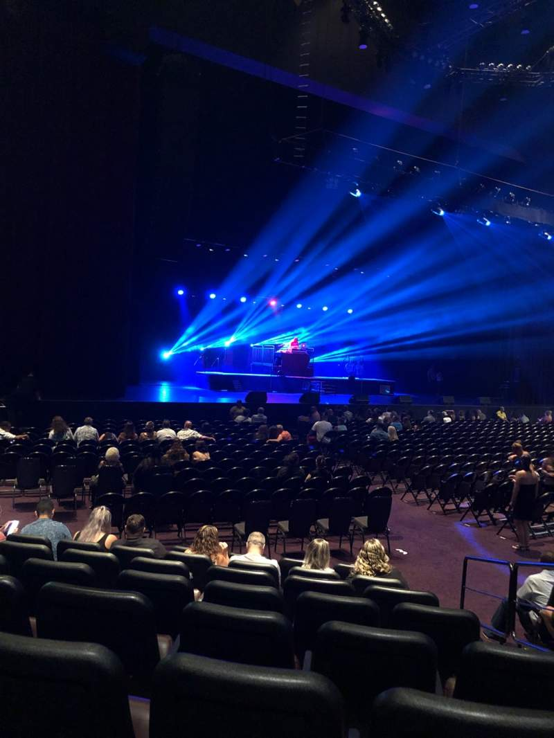 Seating view for Ovation Theatre Section 106 Row H Seat 3