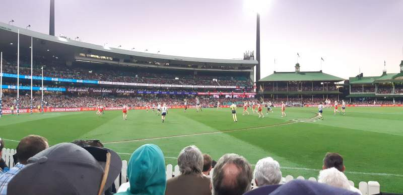 Seating view for Sydney Cricket Ground Section 12 Row E Seat 1
