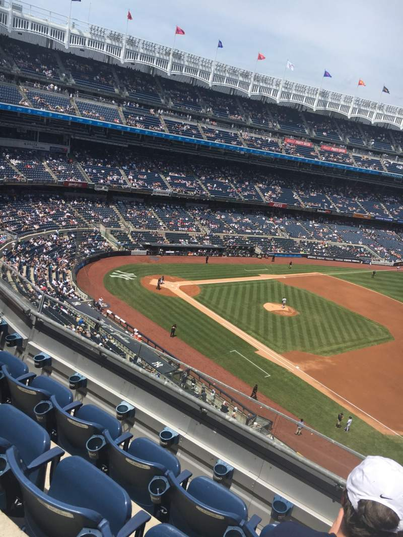 Seating view for Yankee Stadium Section 313 Row 5