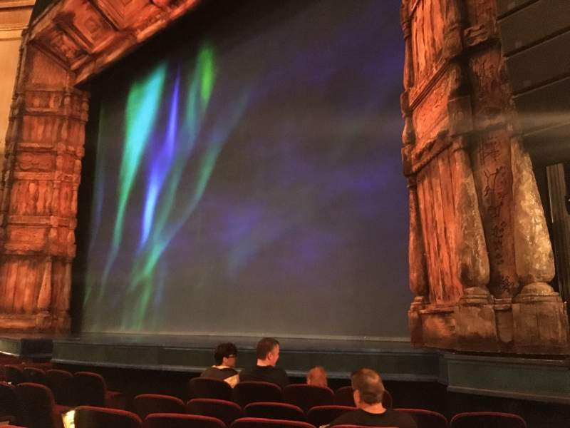 Seating view for St. James Theatre Section Orchestra R Row F Seat 16