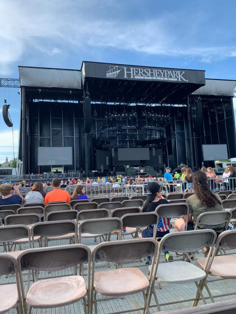 Seating view for Hershey Park Stadium Section E Row 7 Seat 22