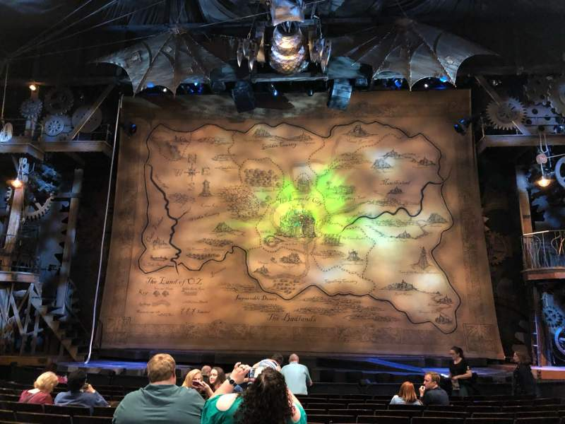 Seating view for Gershwin Theatre Section Orch C Row G Seat 112