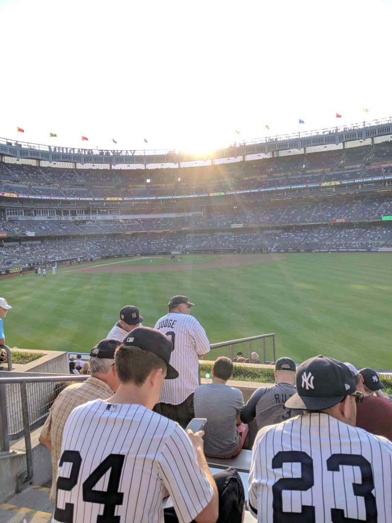 Seating view for Yankee Stadium Section 202 Row 6 Seat 23
