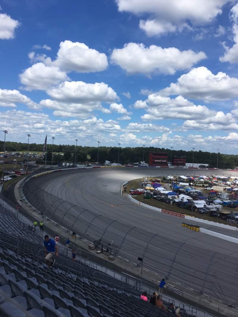 Seating view for Darlington Raceway