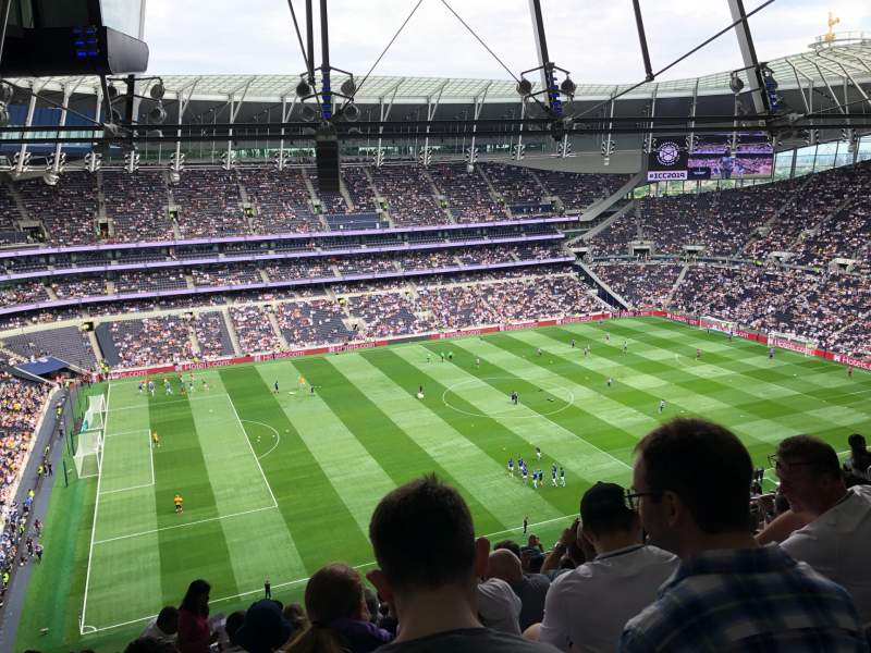 Seating view for Tottenham Hotspur Stadium Section 508 Row 23 Seat 264
