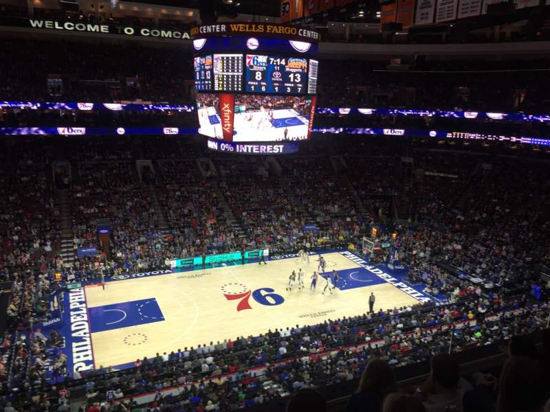 Photos Of The Philadelphia 76ers At Wells Fargo Center