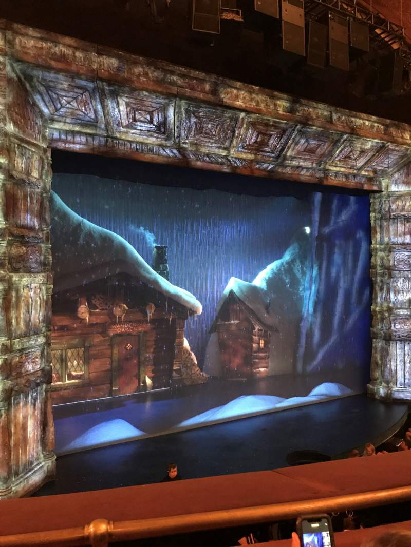 Seating view for St. James Theatre Section Mezzanine L Row B Seat 11