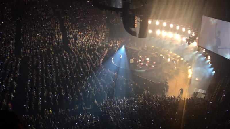 Seating view for Bridgestone Arena Section 310 Row B  Seat 8