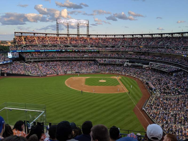 Seating view for Citi Field Section 534 Row 5 Seat 19
