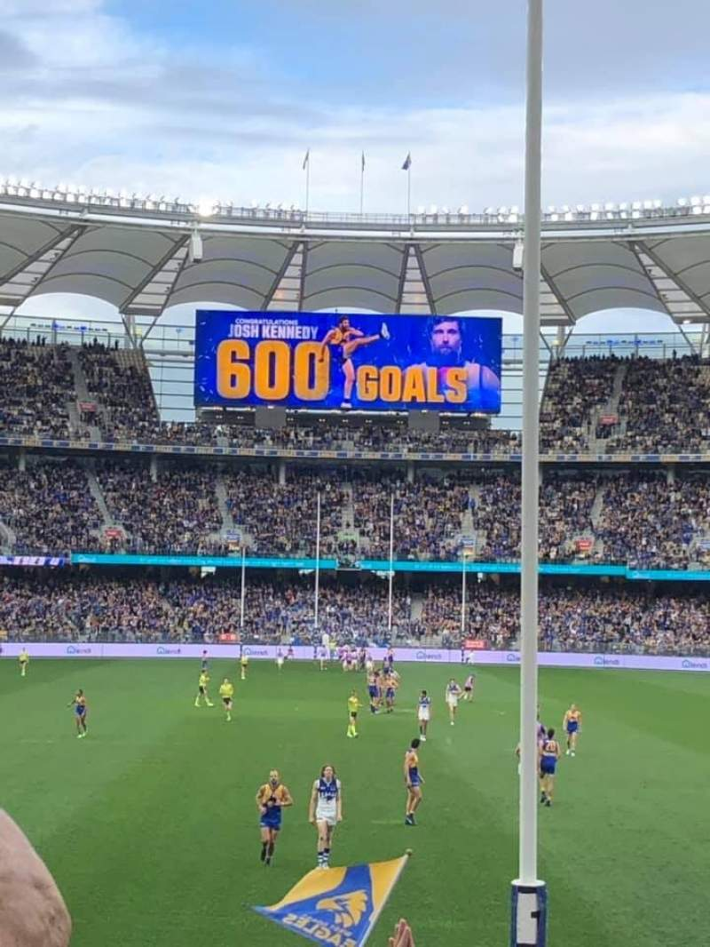 Seating view for Optus Stadium Section 301 Row 21 Seat 44