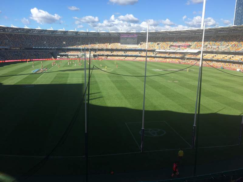 Seating view for The Gabba Section 18 Row Standing Section