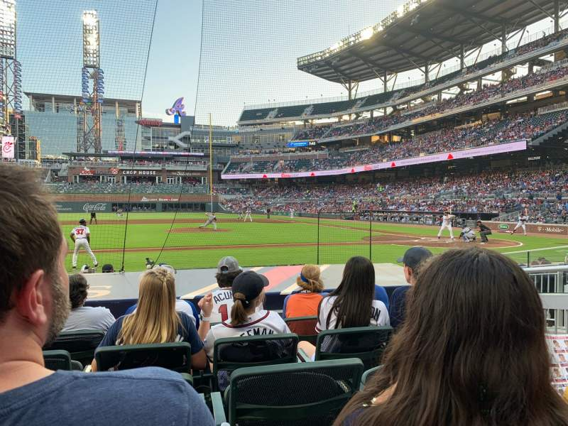 Seating view for SunTrust Park Section 31 Row 10 Seat 4