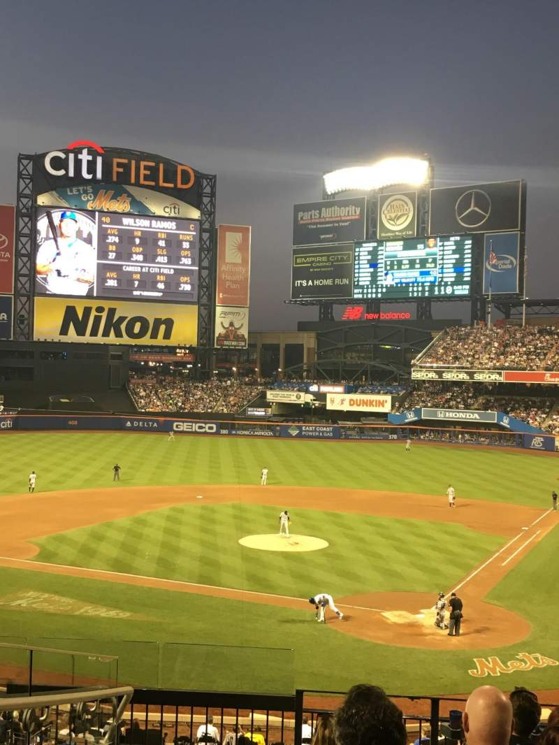 Seating view for Citi Field Section 118 Row 7 Seat 10
