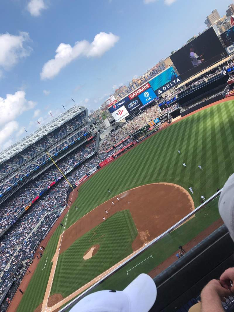 Seating view for Yankee Stadium Section 415 Row 2 Seat 14
