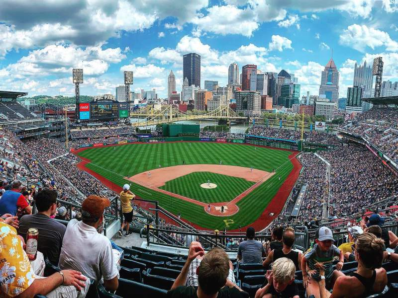 Seating view for PNC Park Section 317 Row N Seat 18