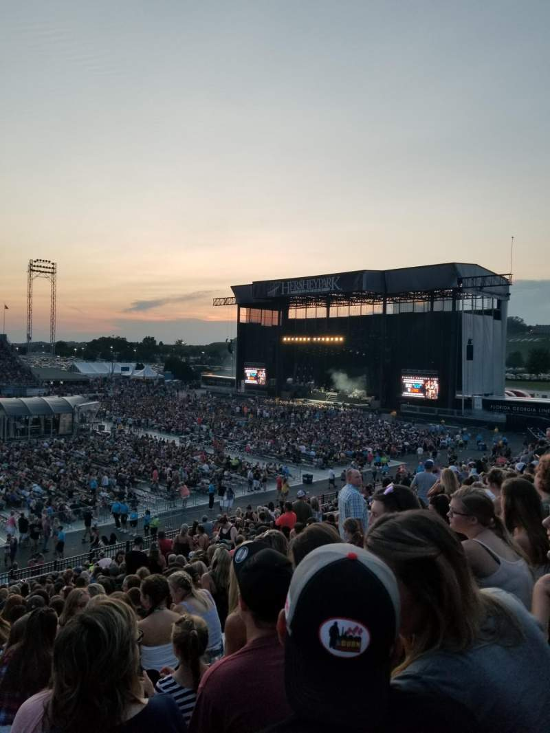 Seating view for Hershey Park Stadium Section 27 Row T Seat 31