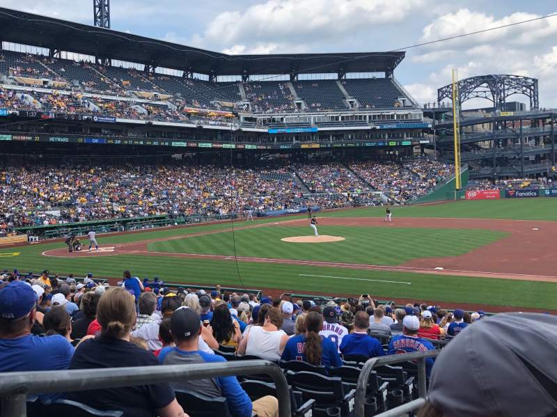 Seating view for PNC Park Section 108 Row N Seat 24