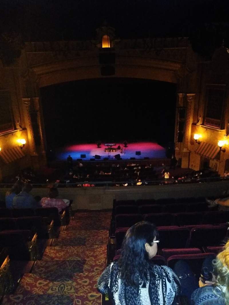 Seating view for Plaza Theatre (El Paso) Section Mezz Row MH  Seat 102