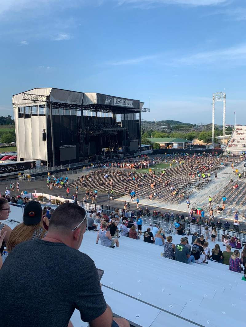 Seating view for Hershey Park Stadium Section 7 Row Z Seat 15