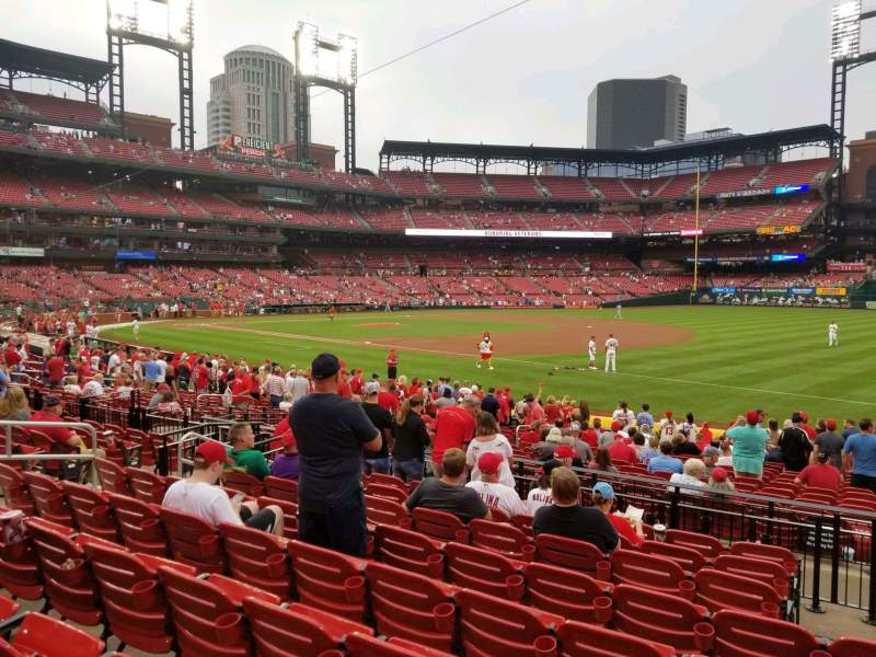 Seating view for Busch Stadium Section 138 Row 9 Seat 12