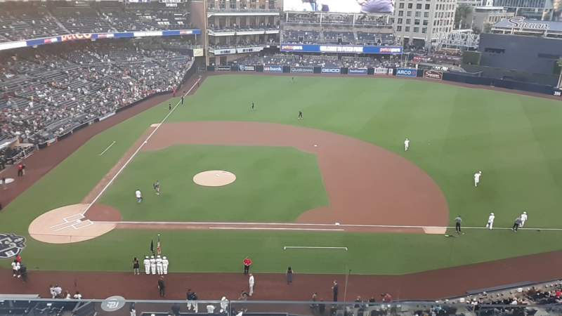 Seating view for PETCO Park Section 311 Row 3 Seat 3