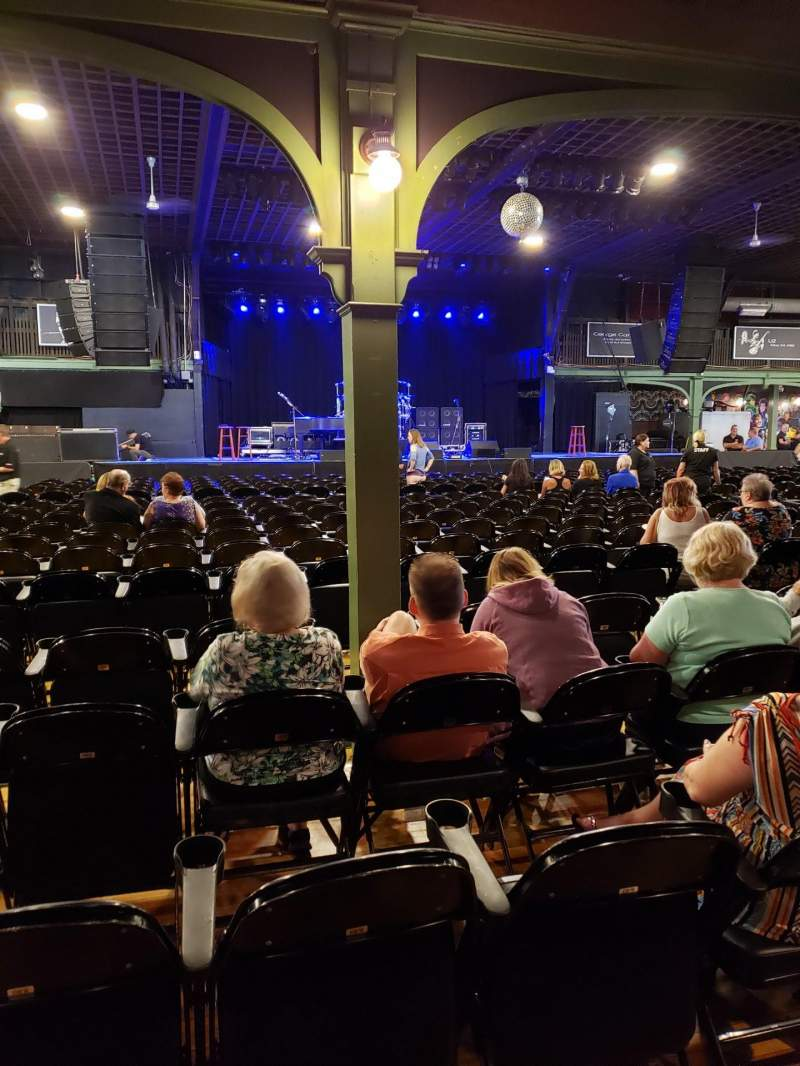 Seating view for Hampton Beach Casino Ballroom Section Center Left Section 2 Row PP Seat 24